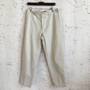 BANANA REPUBLIC BROWN EMERSON CHINO 32 R